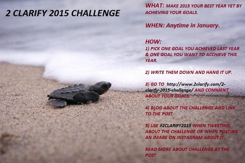 2 CLARIFY 2015 CHALLENGE